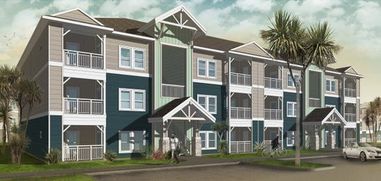 A rendering of The Residences at Pearl Point that will be constructed in Rockport, according to a Feb. 11, 2019 news release.