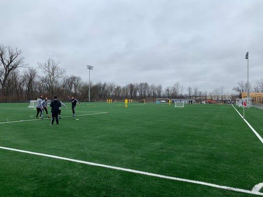 FC Cincinnati trains at the Mercy Health Training Complex Feb. 11, 2019.