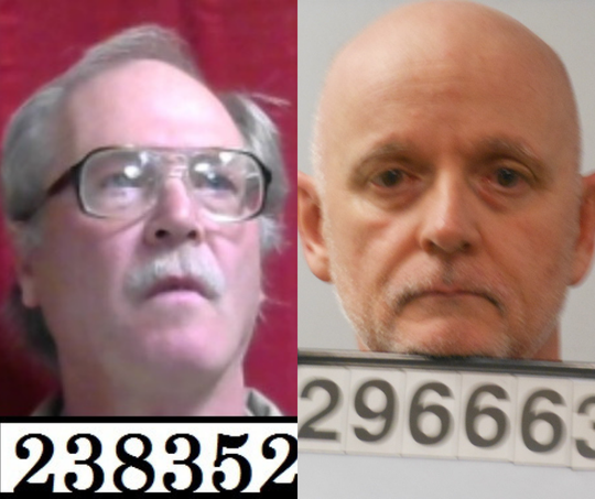 John Diehl, left, and Joseph Niemeyer are two of at least four former Southern Baptist ministers or church volunteers with local ties who were convicted on sexual abuse charges in the last 20 years.