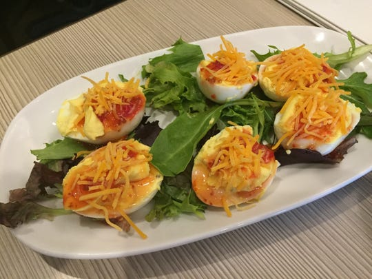 Deviled eggs from Flipdaddy's