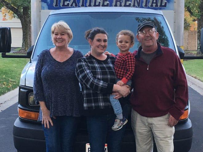 Heekin Family of Anderson opens new doors at Daniel's Textile Rental of Springdale.