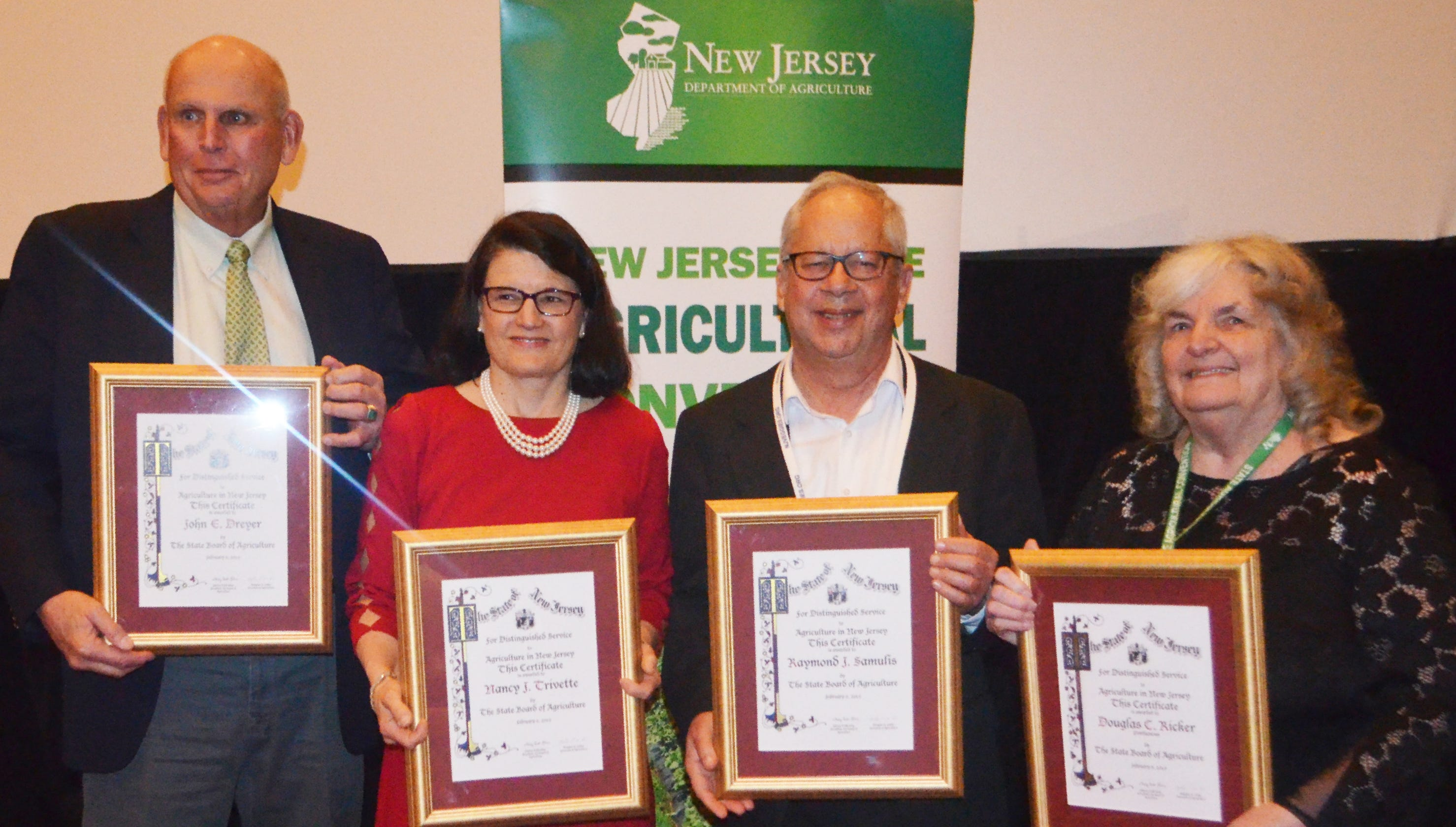 Gardener State: NJ State Board bestows Distinguished Service