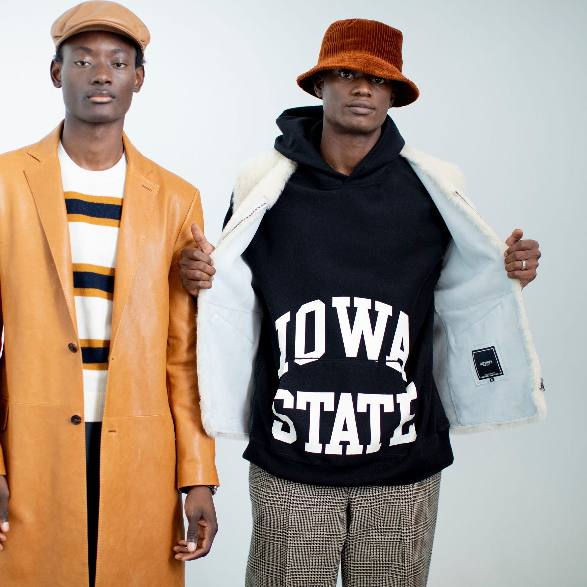 Now showing atNew York Fashion Week: Iowa State hoodies and bacon-wrapped tater tots