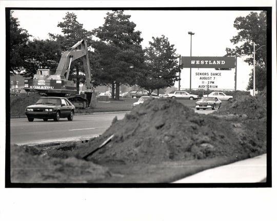 Westland mall in 1989
