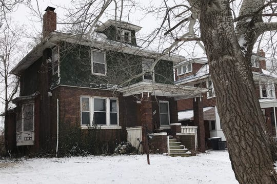 A house on Waverly in Highland Park owned by Adam Sabree, who owed back taxes as of February 8.