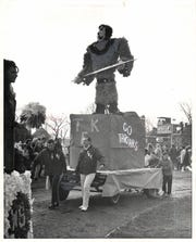 The Tartars represented at Wayne State University's 1966 homecoming parade.