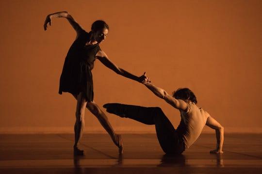 Alessandra Ferri, prima ballerina assoluta and Herman Cornejo, a principal dancer with American Ballet Theatre.
