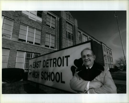 George Lawroski led the campaign to change East Detroit's name to Eastpointe.