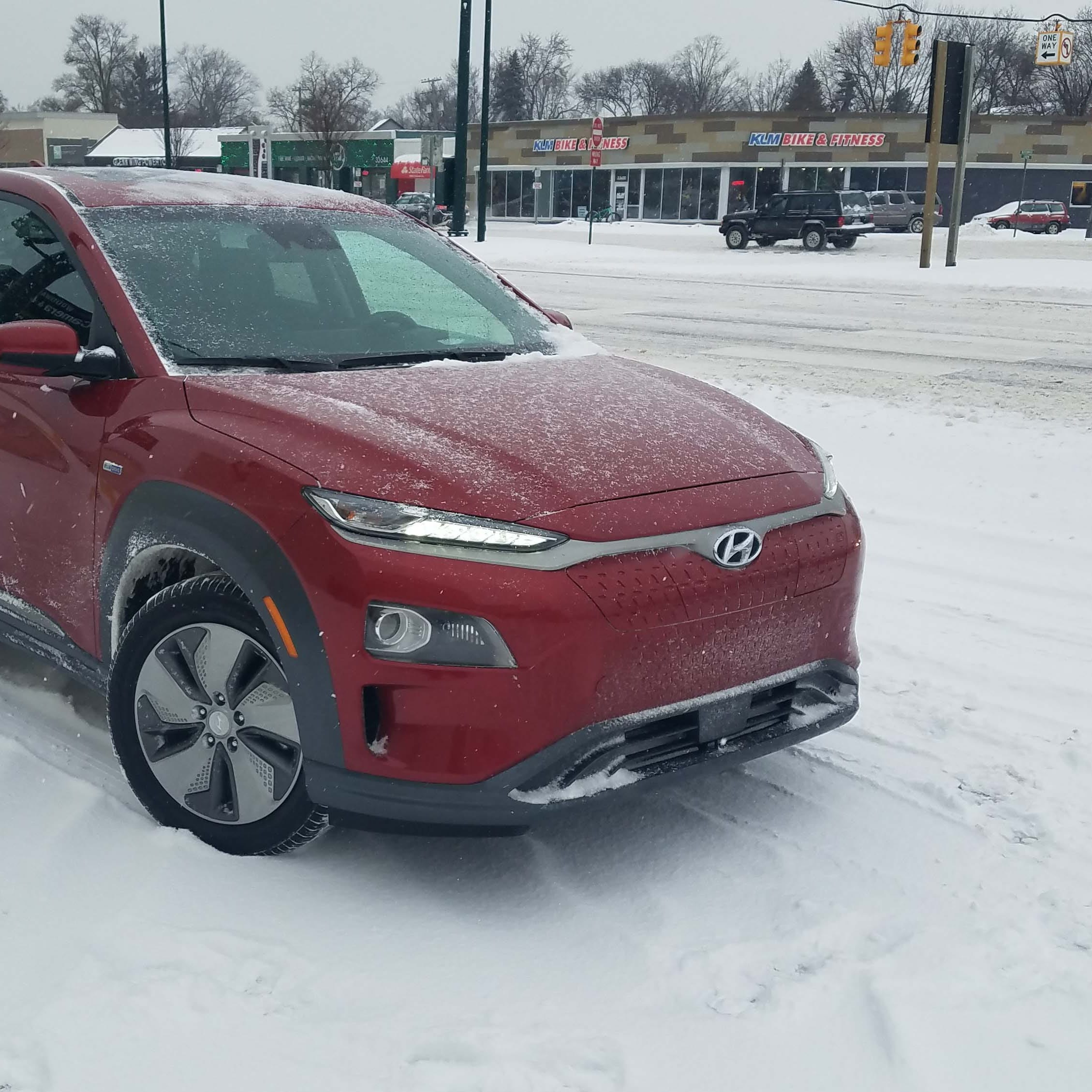 Payne: Hawaii-inspired Hyundai Kona EV meets Detroit winter