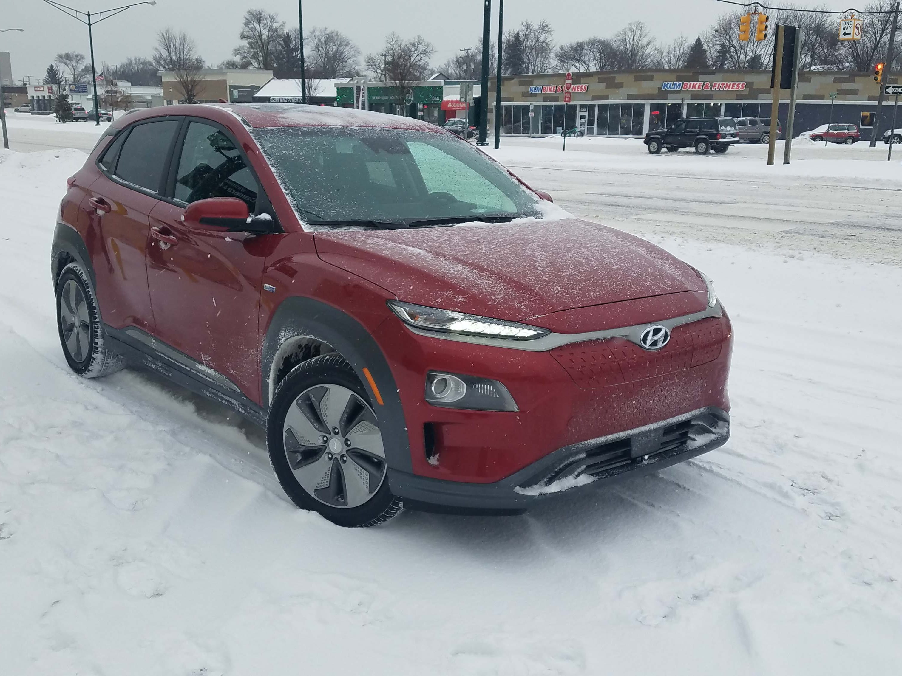 The $37K 2019 Hyundai Kona EV is expensive for a small ute, but is a good Metro Detroit commuter car for those who like EV torque, operation and have a 240-volt charger in their garage.