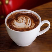 Hot chocolate from Kopplin's Cafe. (Tom Wallace/Minneapolis Star Tribune/TNS)