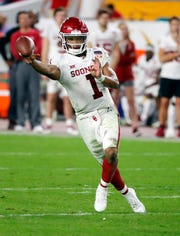 Kyler Murray says he's fulling committed to being an NFL quarterback and will likely be a first-round pick in April's draft.
