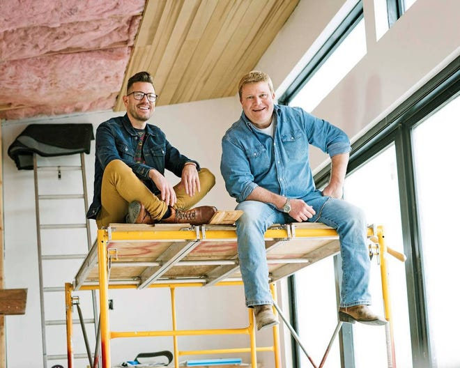 """Luke Caldwell and Clint Robertson of HGTV's """"Boise Boys"""" will offer their tips for cottage and cabin design and renovation at the 12th annual Cottage and Lakefront Living Show."""