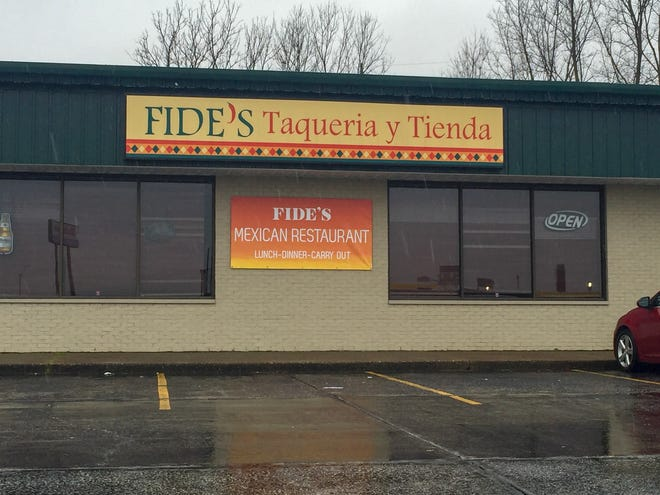 A new Indian restaurant plans to open in March at this spot along State Road 66 in Newburgh.