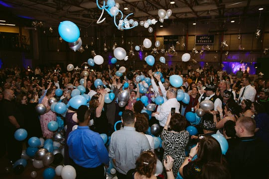 """New Hope Vineyard Church helped organize the local """"Night to Shine"""" prom, held Friday night at Terra State Community College."""