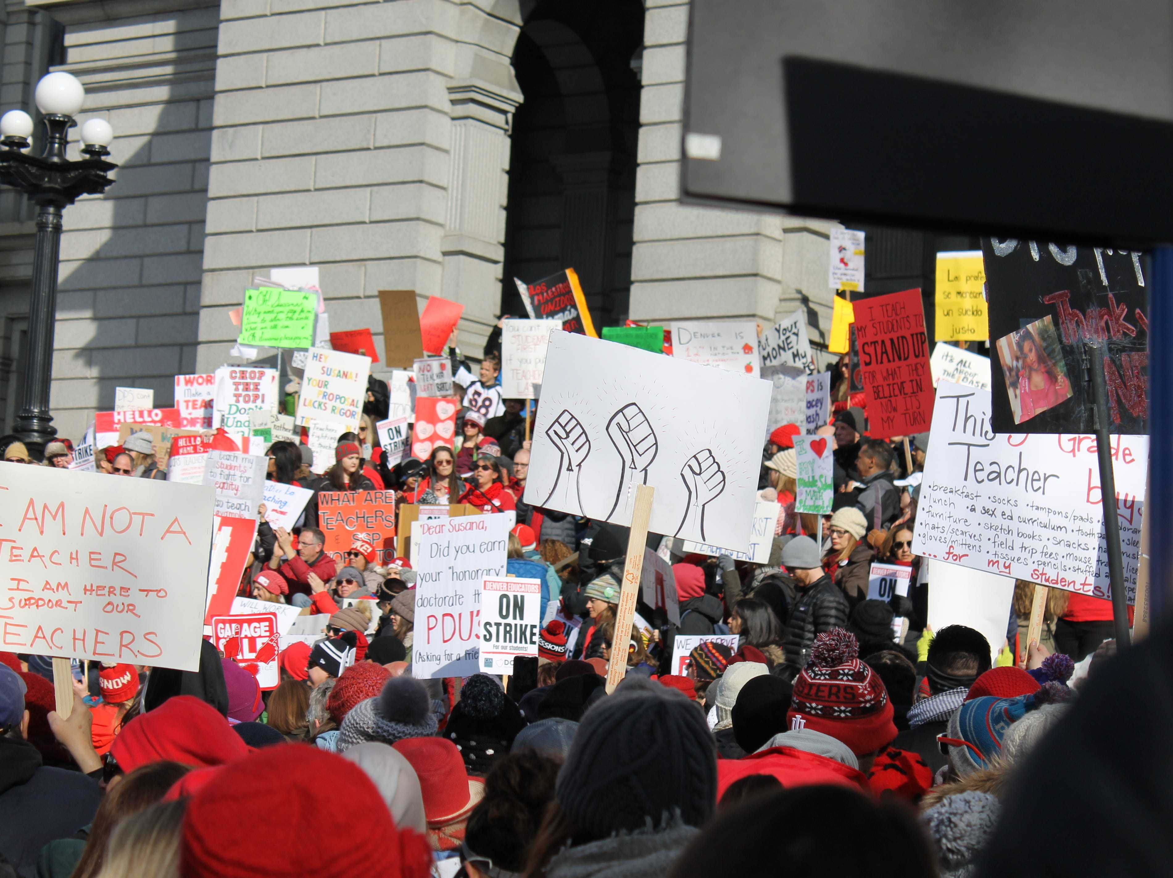 Denver Public Schools teachers are calling for a more transparent, fair salary system that prioritizes base pay over incentives.