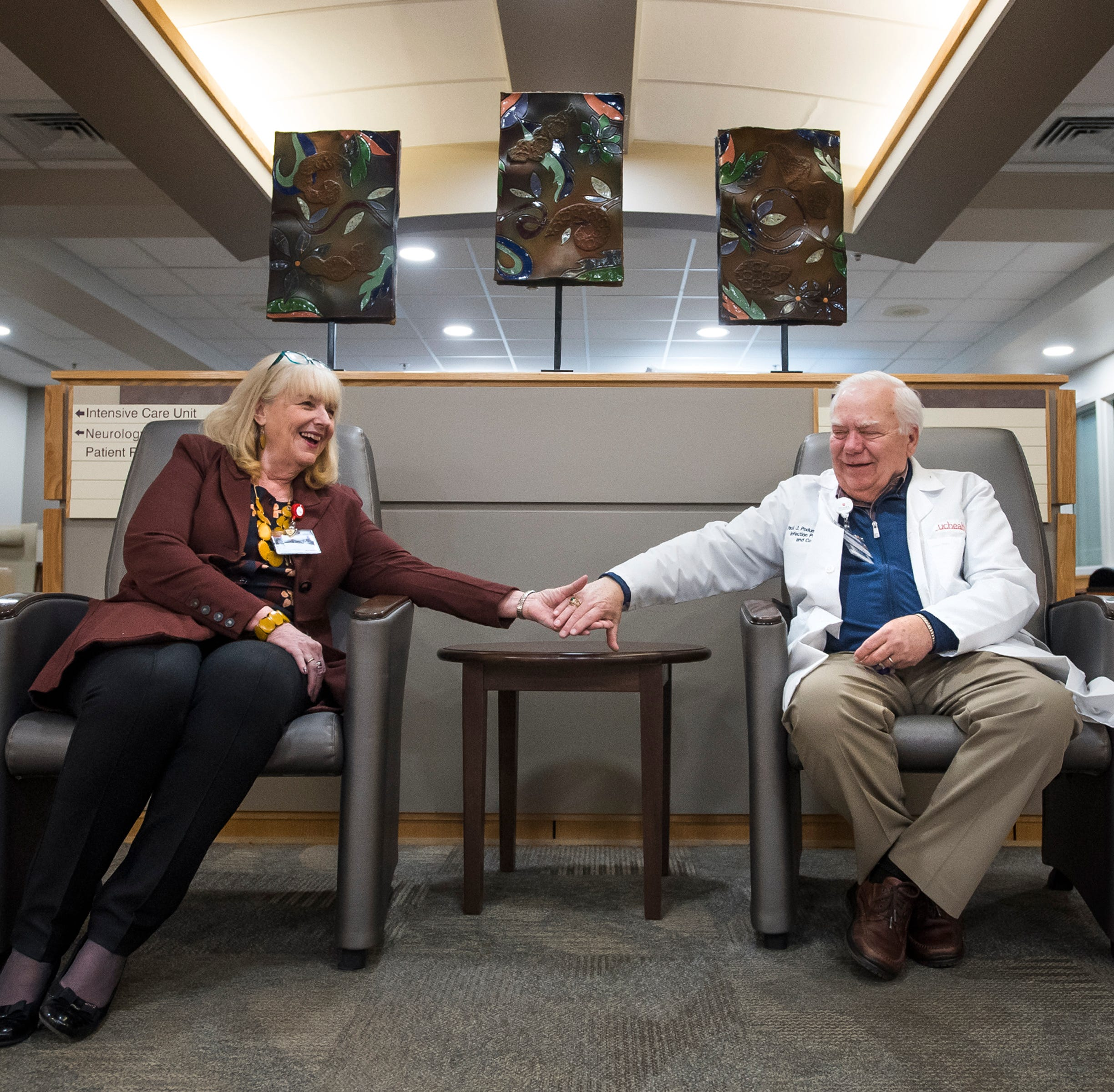 Poudre Valley Hospital power couple retiring after 101 combined years
