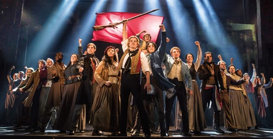 "The national tour of ""Les Misérables"""