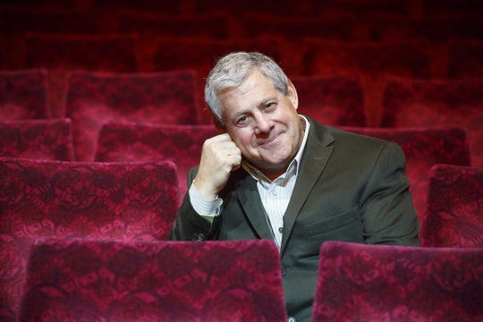 Cameron Mackintosh at London's Prince Edward Theatre in 2013.