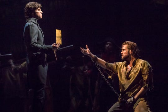 "A scene from the national tour of ""Les Misérables"""