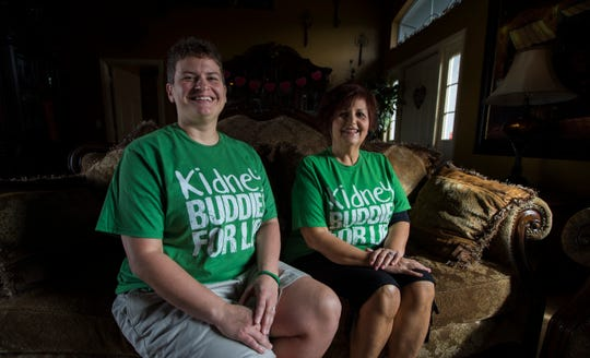 Dr. Melanie Altizer, left, is donating her kidney to friend and co-worker, Marianne McGiffin. Marianne is no longer able to work. The kidney surgery will take place February 27, 2019.