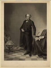 John C. Calhoun by Thomas Hicks from 1852.