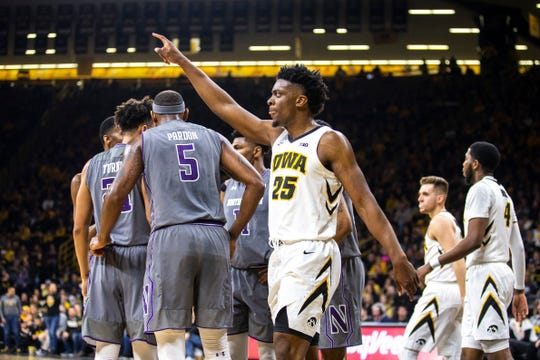 Iowa leading scorer Tyler Cook knows that the Hawkeyes can't start slow at Rutgers like they did against Northwestern.