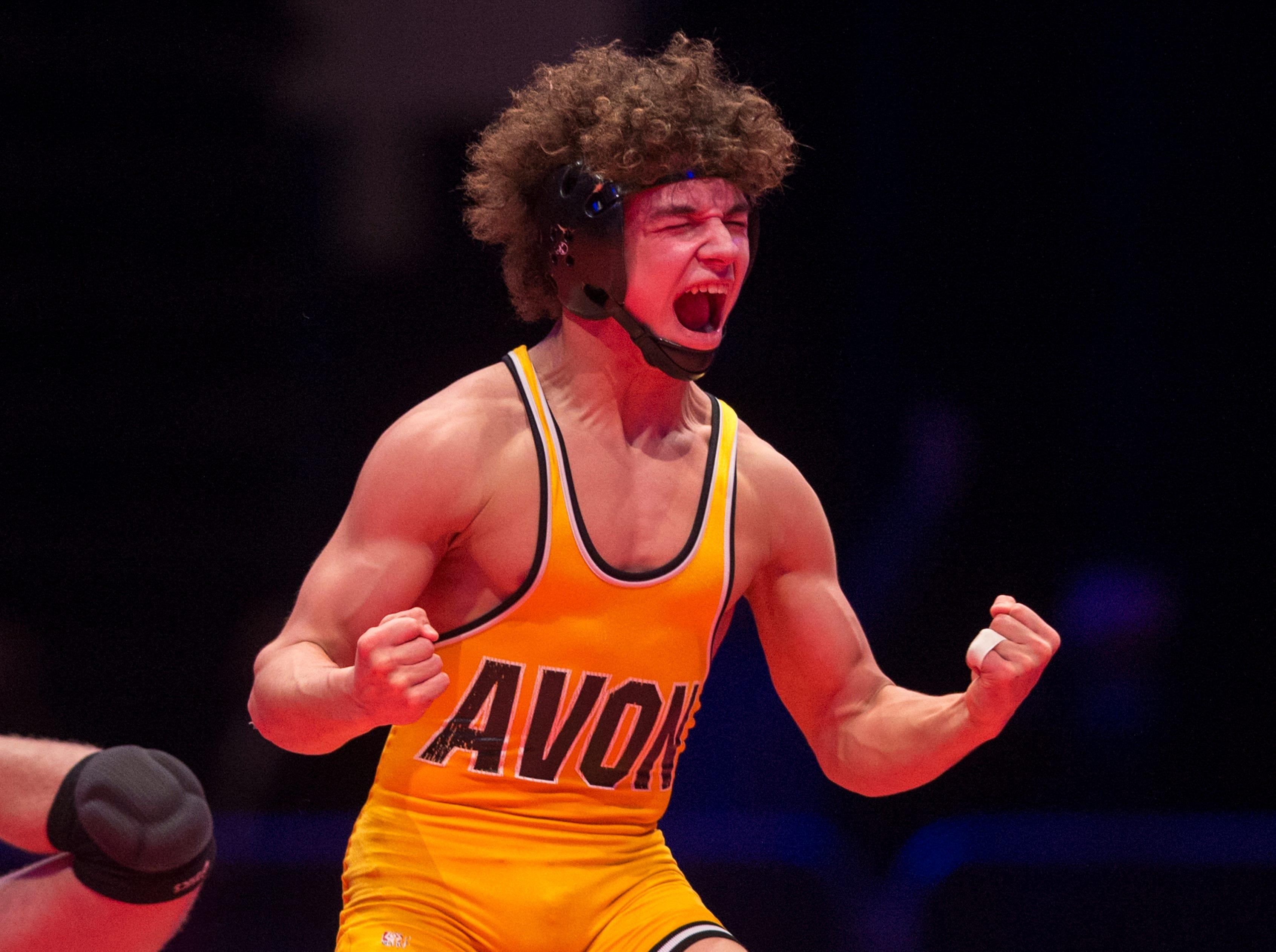 Asa Garcia battles for third state wrestling title