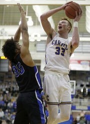 John-Michael Mulloy led Carmel past Hamilton Southeastern on Friday.