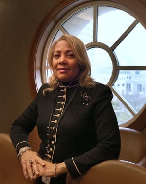 Susan Hall Dotson, coordinator of African American history at the Indiana Historical Society on Tuesday, Feb. 5, 2019.