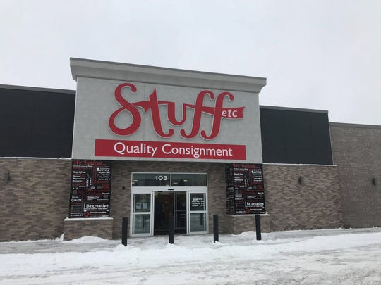 The new location of Stuff Etc. Iowa City at 851 Highway 6 E Suite 103, which was once part of the former K-Mart in town, is shown on Feb. 10, 2019.