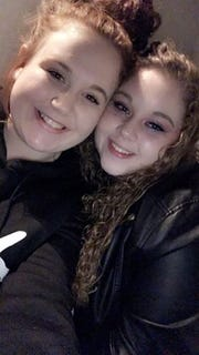 Tara Fox, right, in an undated picture with friend Jocee Winstead. Fox was killed in a car accident Saturday, February 9, 2019.