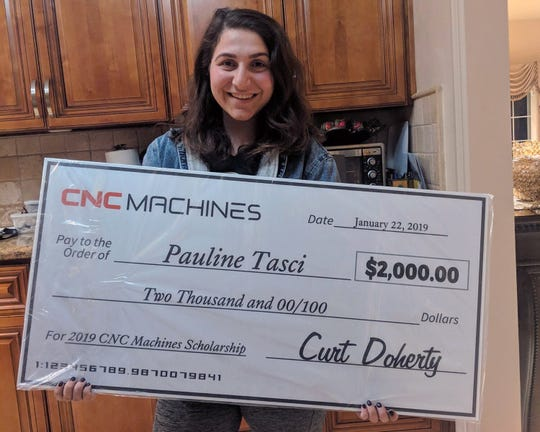 Pauline Tasci, a student in manufacturing engineering, won an award for $2,000 for herself and $500 for her department at California State Polytechnic University – Pomona. CNC Machines of Sanford, Florida, developed a competition to help attract young workers to the field of manufacturing.