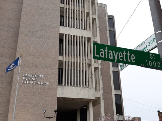 The Lafayette Parish Courthouse