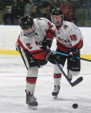 Pinckney's Sebastian Smith had two goals, one assist and a shootout goal in a 5-4 victory over Romeo.