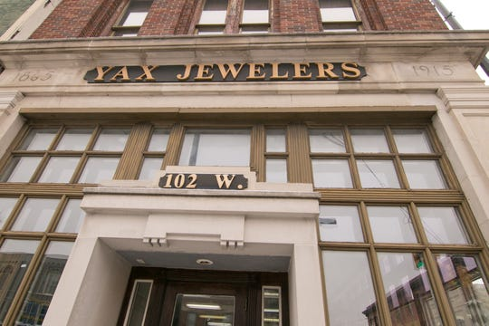 Yax Jewelers in downtown Howell, shown Monday, Feb. 11, 2019, has been in business since 1917, but not in its current location at Michigan and Grand River Ave.