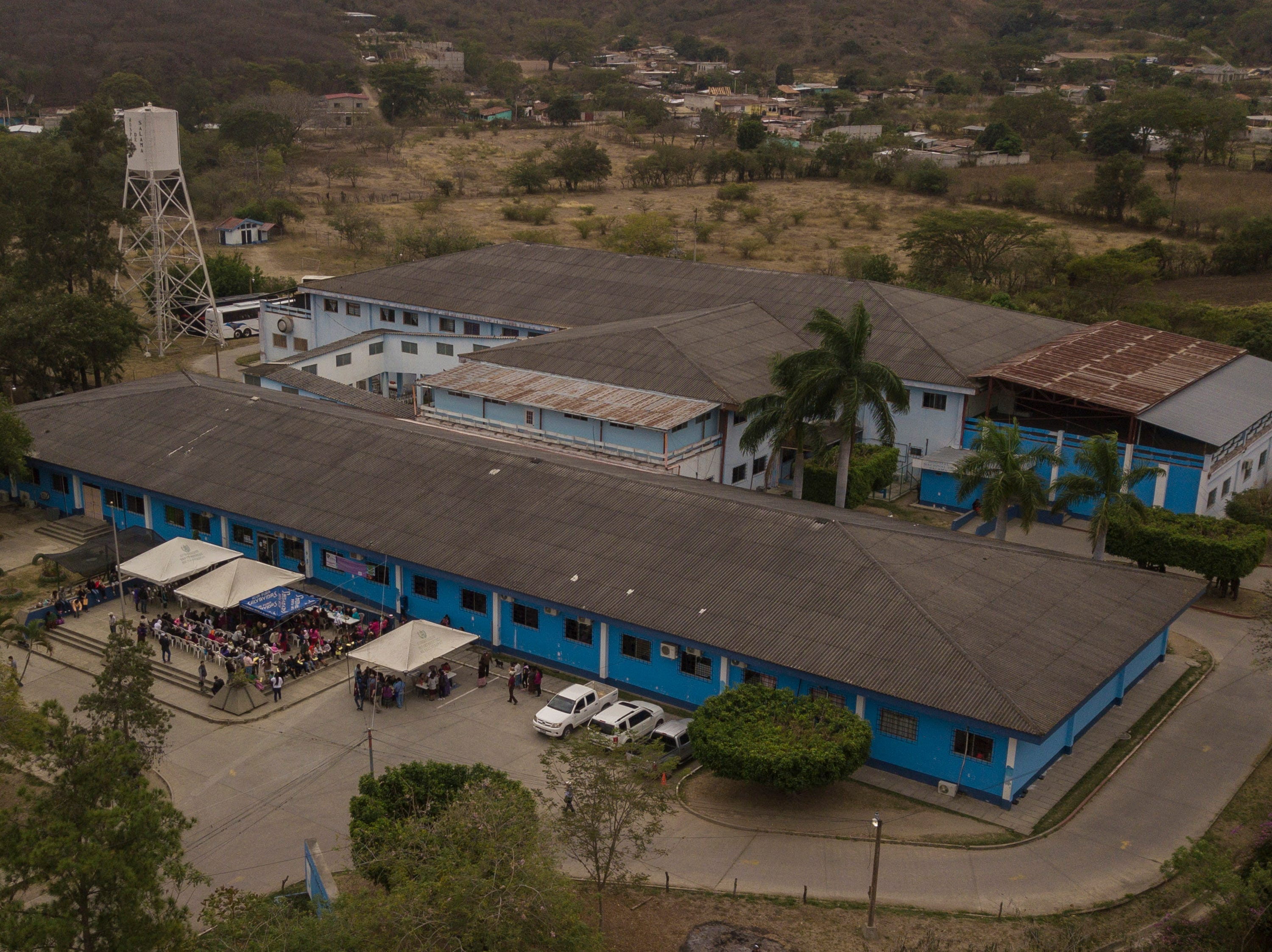 An overview of the Hospital Nacional de Salamá in Salamá, Guatemala where the 2019 COTA medical mission served over 2,000 patients. Jan. 20, 2019