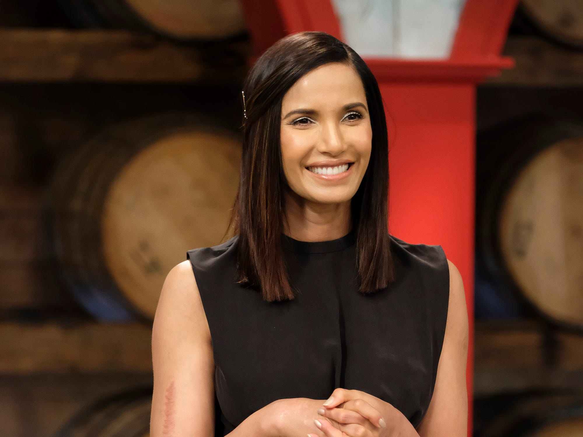 "Host Padma Lakshmi on ""The Greatest,"" episode 11 of Bravo's 'Top Chef:' Kentucky season."