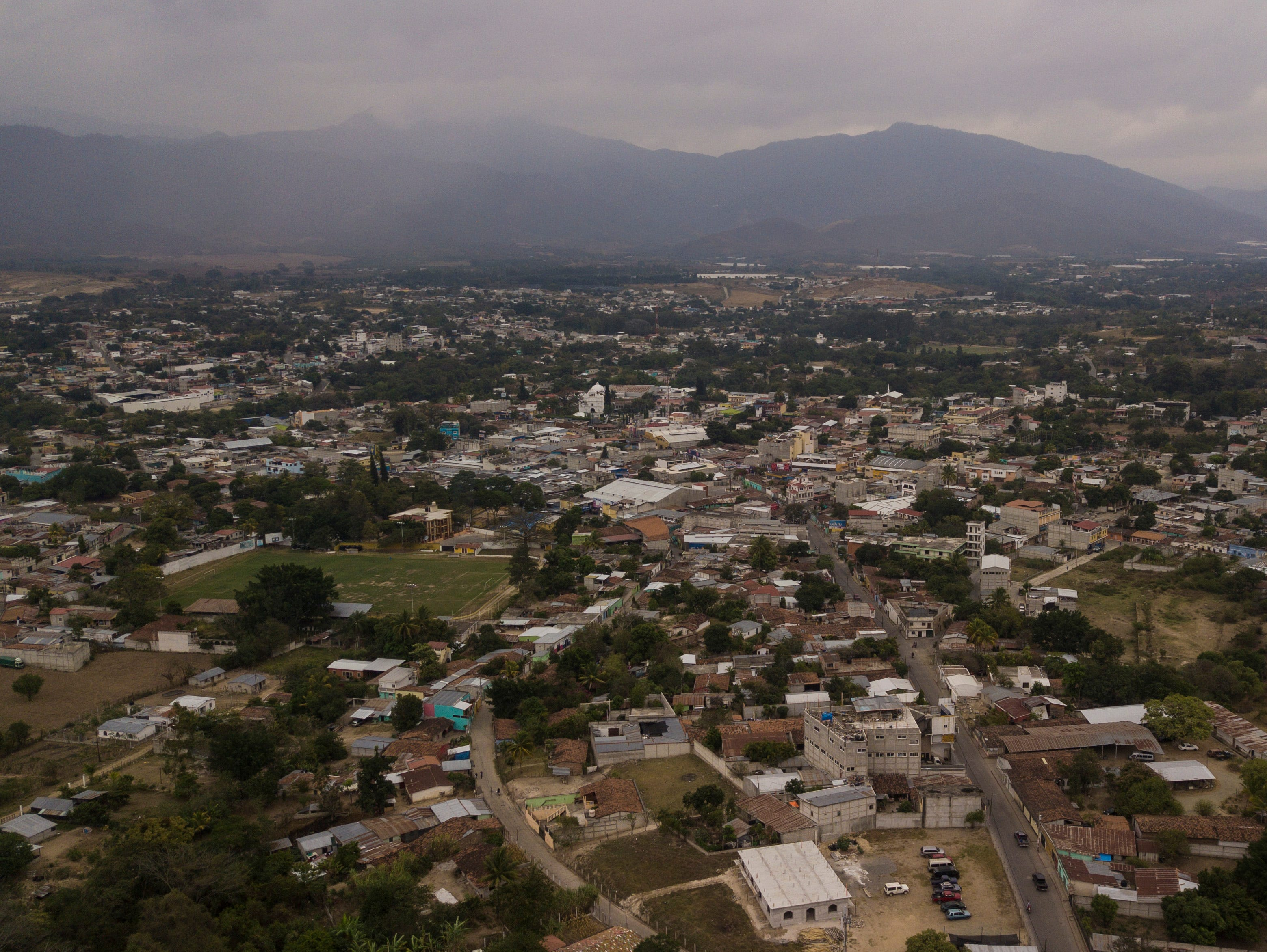 An overview of Salamá, Guatemala, a city with a population around 40,000 and located a few hours northeast of Guatemala City. Each year COTA visits areas like Salamá where residents are less likely to have access to healthcare and the need is greatest. Jan. 20, 2019