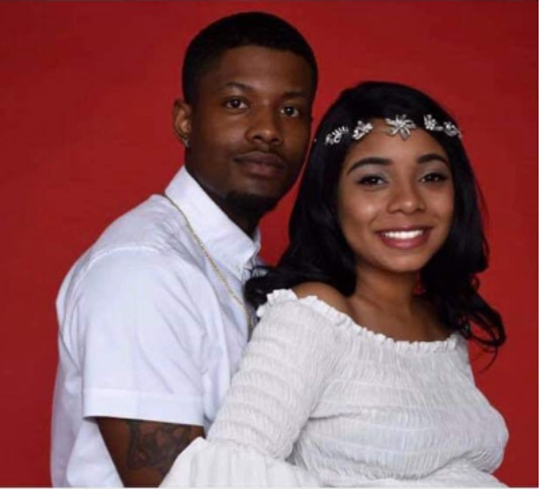 Police are searching for Ty'rell Pounds, left, who is a suspect in connection to the abduction of OSU Mansfield student Skylar Williams, right.