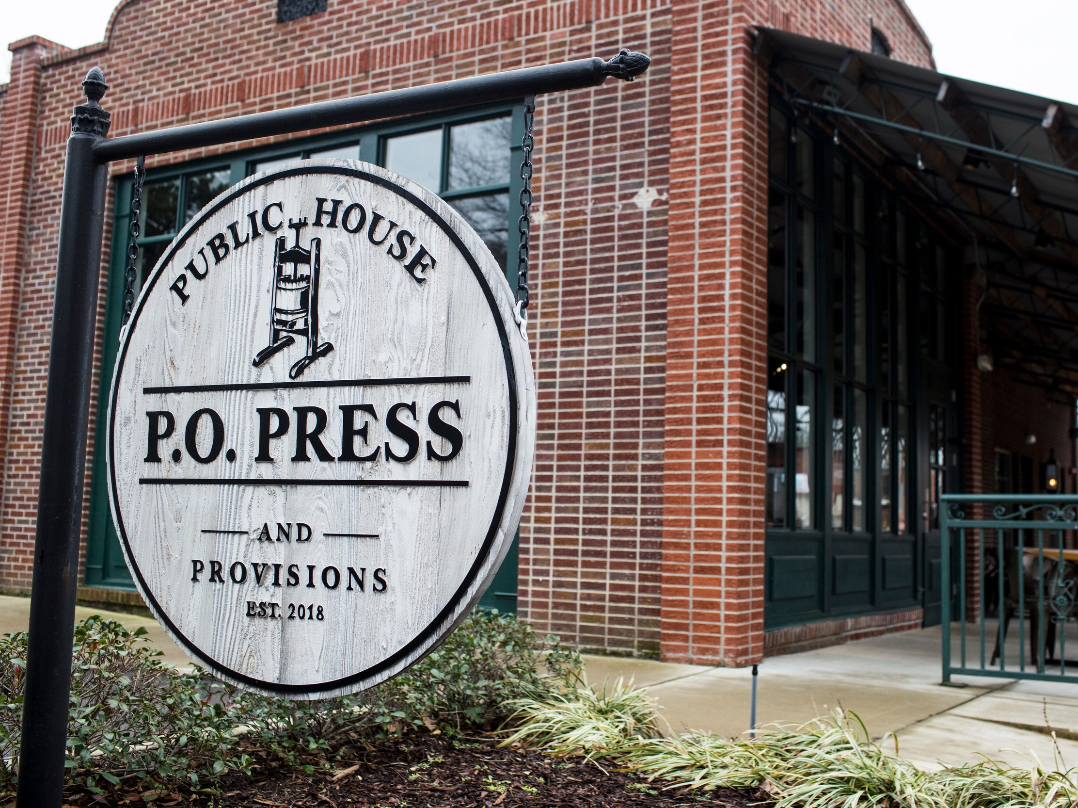 February 10, 2019 - Brunch is served at PO Press Public House & Provisions in Collierville on Sundays. PO Press Public House & Provisions is located at 148 N Main St. in Collierville.