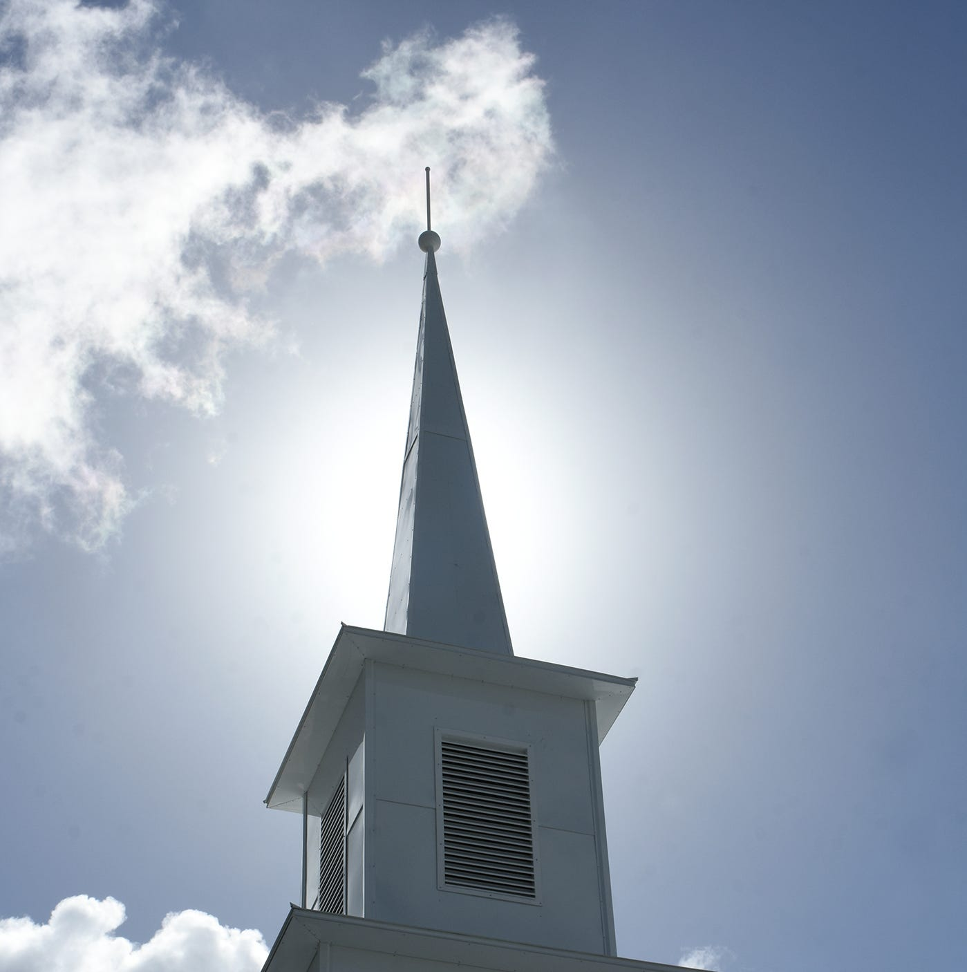 Lofty ambitions: United Church of Marco Island replaces steeple blown over by Irma