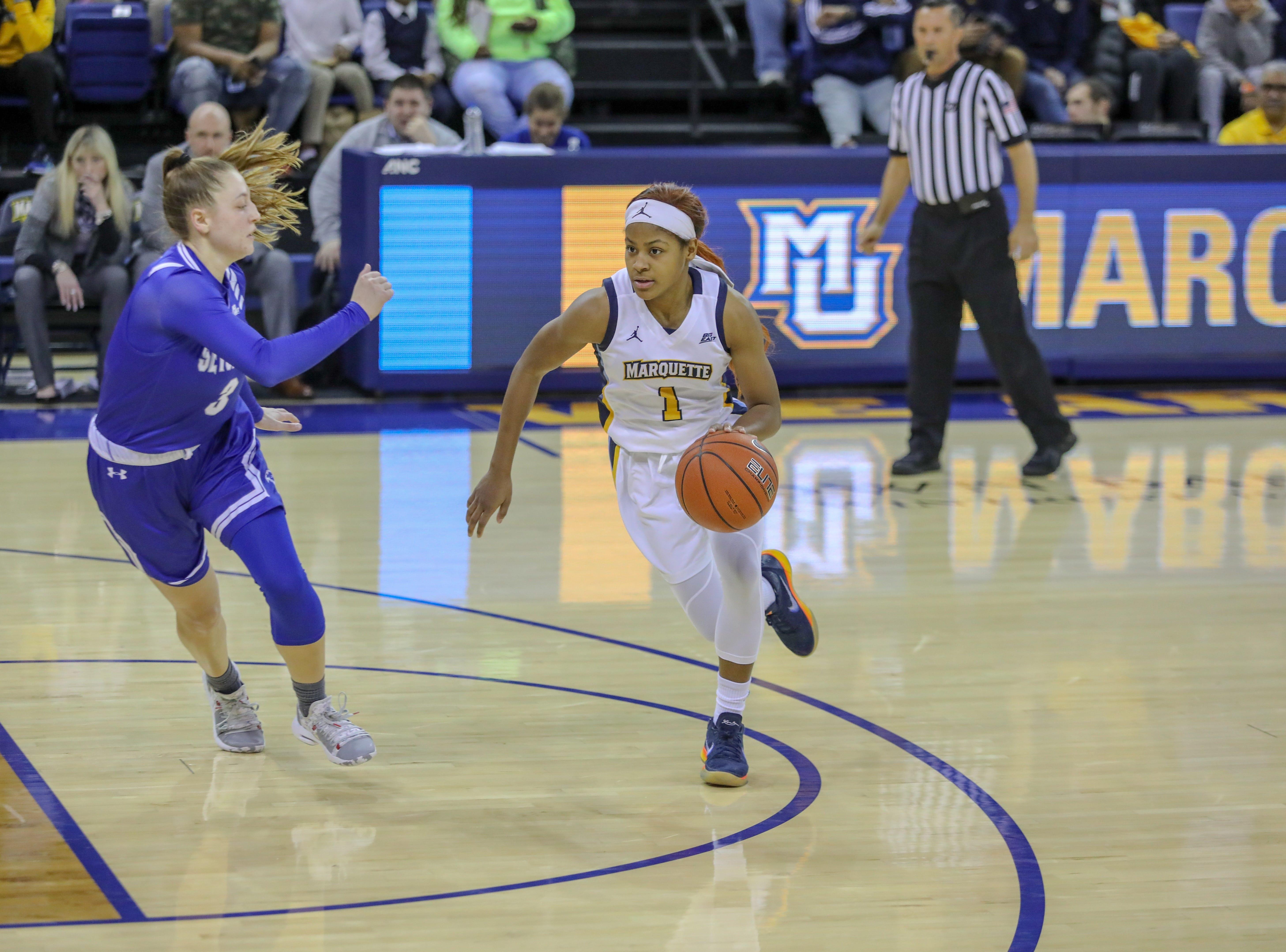 Marquette Women's Basketball vs. Seton Hall