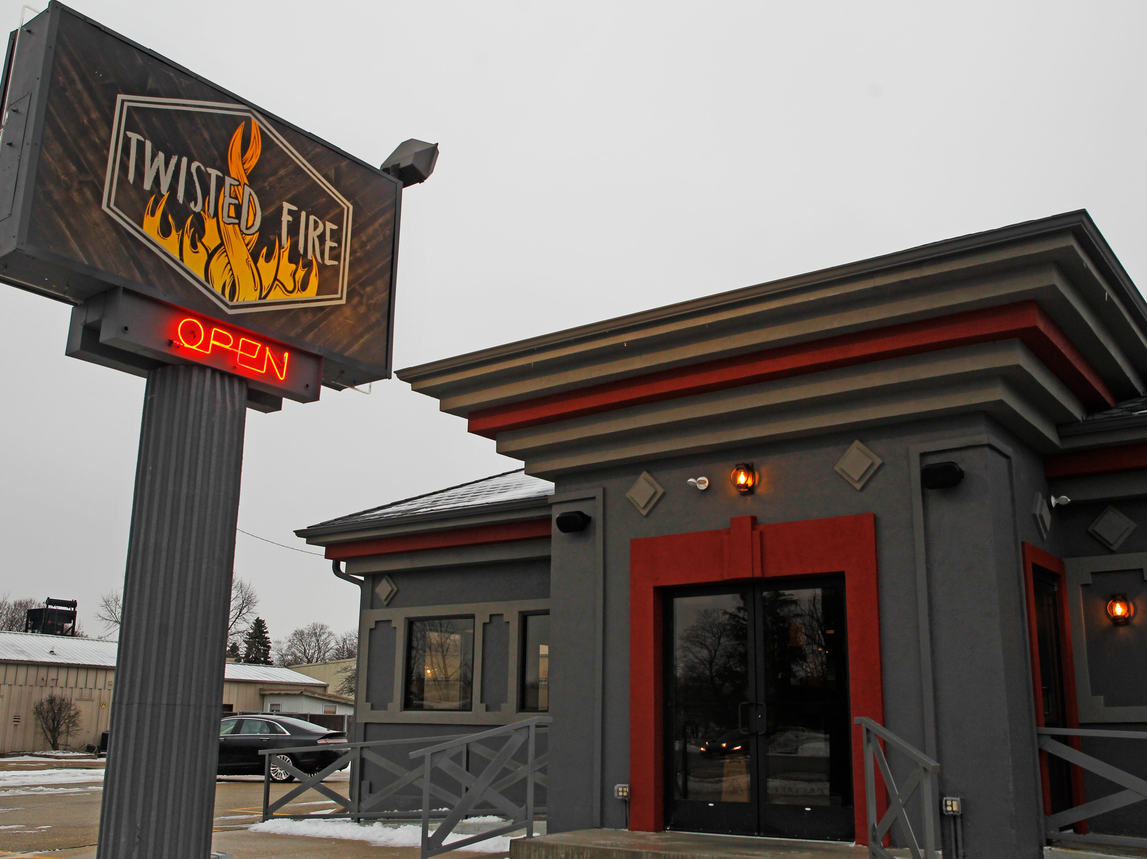 Twisted Fire restaurant at 515 E. Wisconsin Ave., Oconomowac, Wi.