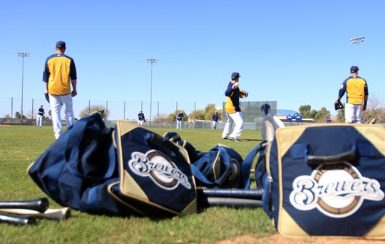 The Milwaukee Brewers will be back at work this week at the newly renovated spring training complex in Phoenix.