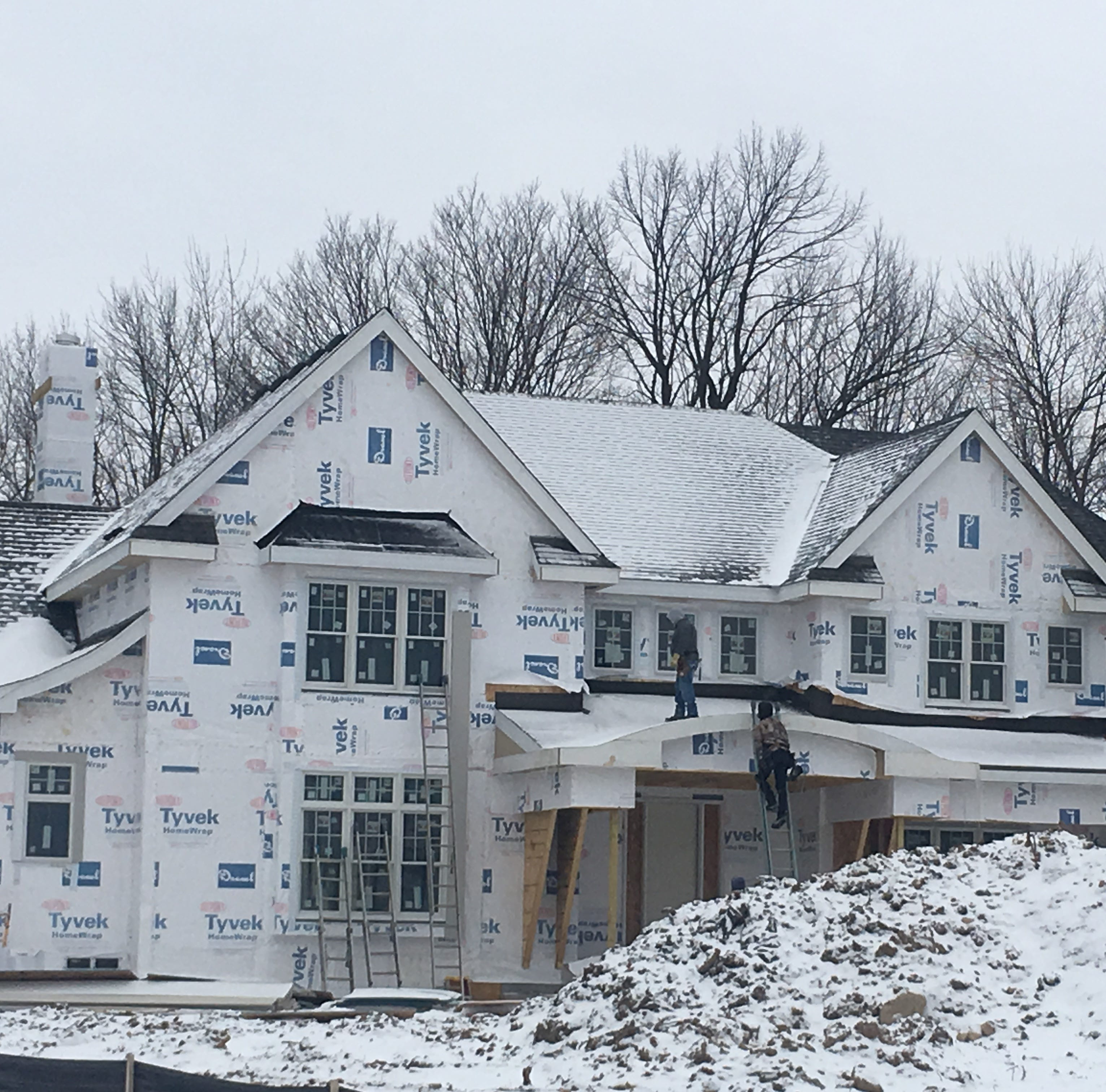 The new homes being built in metro Milwaukee so far this year will be bigger -- and pricier