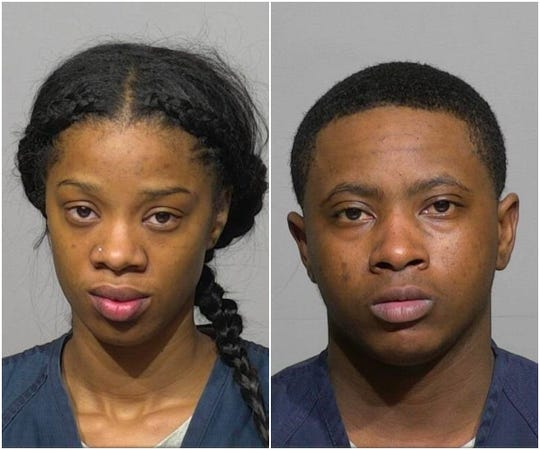 Nakia Taylor (left) and Shakina Hawkins are facing criminal charges in connection with a bank robbery in Brown Deer.