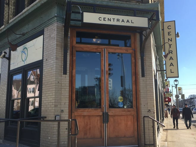 Cafe Centraal in Bay View reopened after remodeling in February 2019. New exterior signs were part of the update.