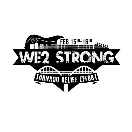 WE2 STRONG 2-day concert to benefit Wetumpka tornado victims is Friday and Saturday at Range 231 N.