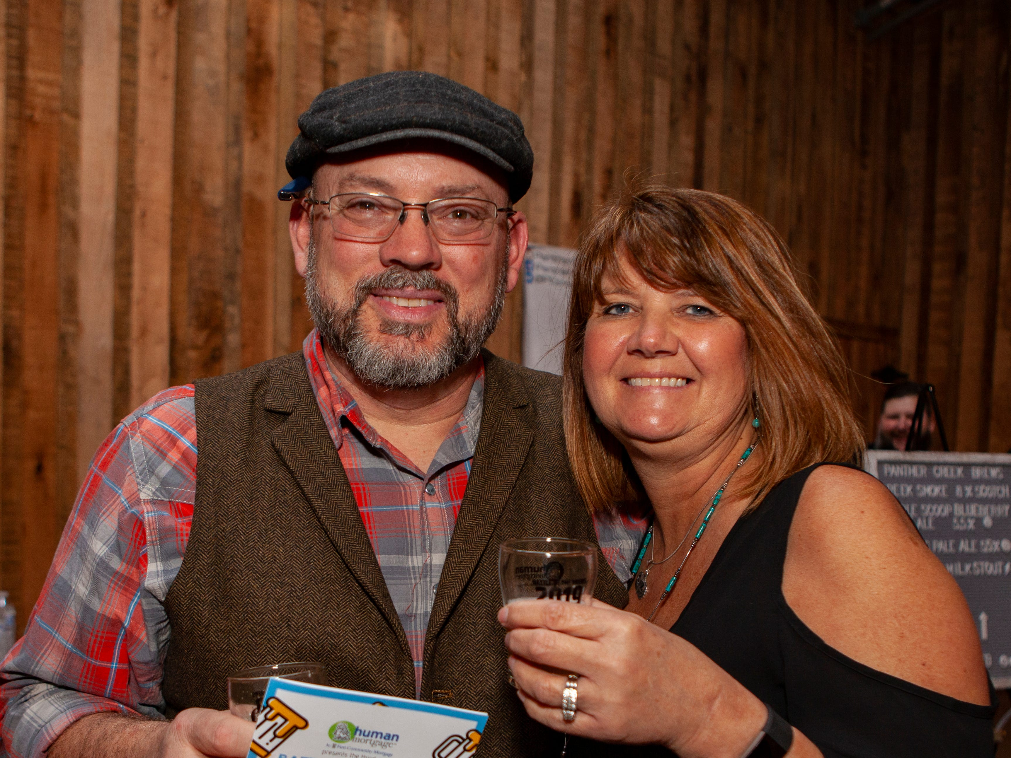 James and Diana Corson at the third annual Battle of the Brews, a benefit for Kymari House Inc., held Saturday, Feb. 9, 2019 at The Grove at Williamson Place in Murfreesboro.